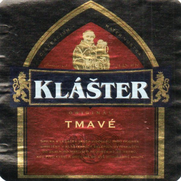 Пиво Klaster Tmave (Клаштер тёмное) Чехия кег 20 л