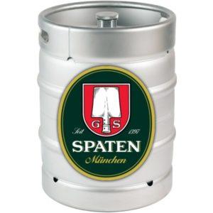 Пиво Spaten Munchen (Шпатен Мюнхен) фильтрованное светлое Лагер Кег 30 л Германия