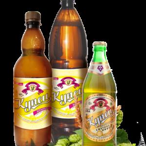 Пиво Купец золотой (Моршанское пиво) стекло 0,5 х 20 шт