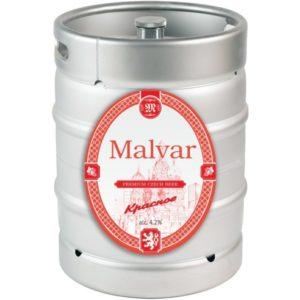Пиво Красное нефильтрованное светлое Малвар кег 30 л
