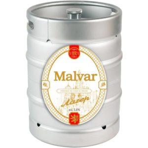 Пиво Лагер нефильтрованное светлое Малвар кег 30 л