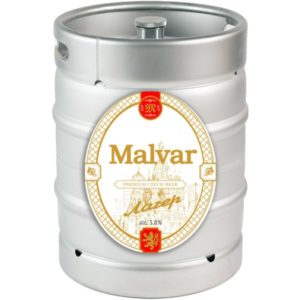 Пиво Лагер фильтрованное светлое Малвар кег 30 л