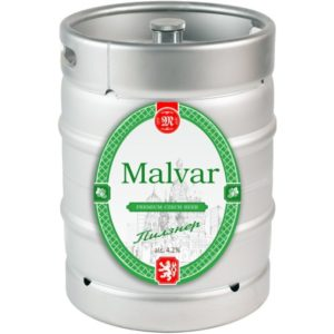 Пиво Пилснер нефильтрованное светлое Малвар кег 30 л