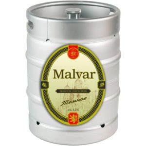 Пиво Тёмное нефильтрованное темное Малвар кег 30 л