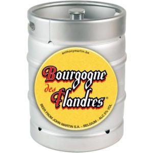 Пиво Bourgogne des Flandres (Бургунь де Фландер) фильтрованное, тёмное, Эль Кег 30 л