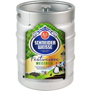 Пиво Schneider Weisse TAP 4 Meine Festweisse (Шнайдер Вайс ТАП 4 Майн Фествайсc) Германия (светлое пшеничное кег 20 л)