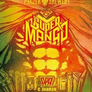 Пиво Super Mango (Супер Манго) светлый эль кег 30 л Россия (Panzer Brewery)