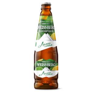 Бочкари Вайсберг Weis Berg Лимон-Лайм бутылка 0,5 х 12 шт