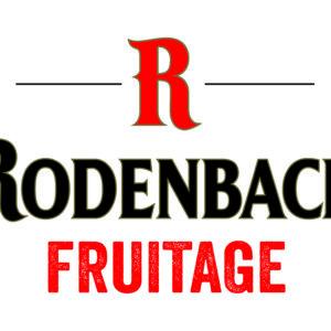 Пиво Rodenbach Fruitage (Роденбах Фрутаж) фильтрованное фруктовое красное эль кег 20 л Бельгия
