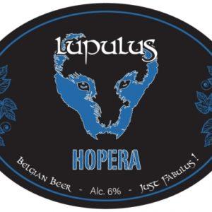 Пиво Lupulus Hopera (Люпулус Хопера) нефильтрованное светлое эль кег 20 л Бельгия