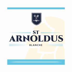 Пиво St Arnoldus Blanche (Синт Арнольдус Бланш) нефильтрованное светлое бельгийский вит кег 30 л Бельгия
