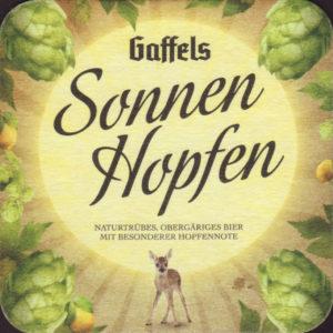 Пиво Gaffel SonnenHopfen (Гаффель Зоненхопфен) нефильтрованное светлое эль кег 30 л Германия