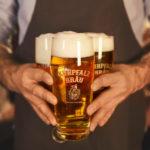 Пиво Welde Kurpfalz Helles (Вельде Курпфальц Хеллес) светлое лагер кег 30 л Германия