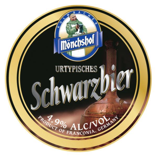 Пиво Monchshof Schwarzbier (Мюнхоф Шварцбир) темное лагер кег 30 л Германия